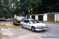 Kies als voorbeeldfoto voor het album: Trabant 601 kombi uit sallin ophalen. 17-09-2002